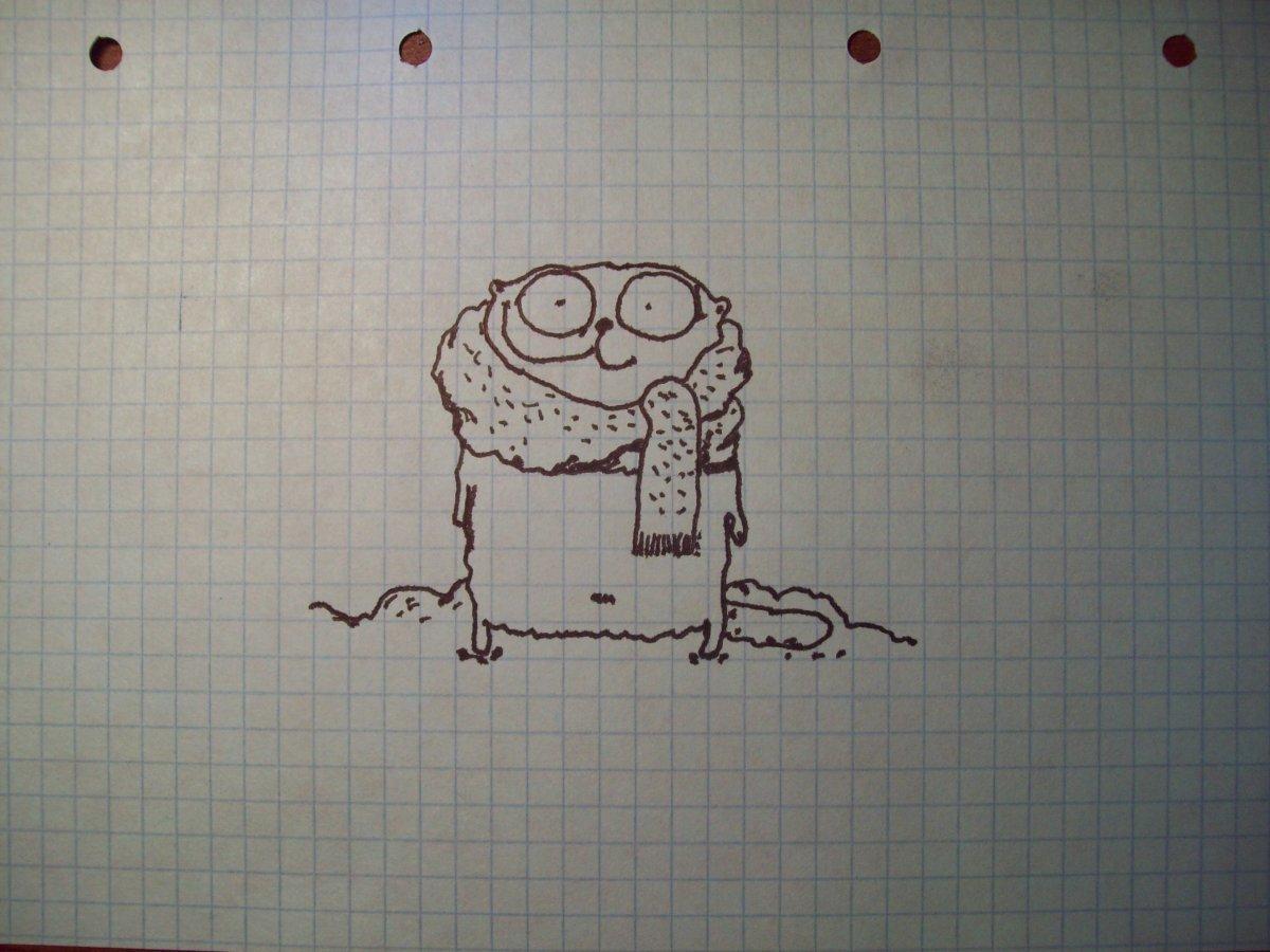 Рисовать прикольные рисунки ручкой, открытку день рождение