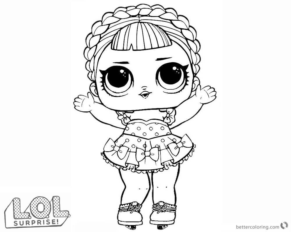 quot lol doll coloring pages sk8er free