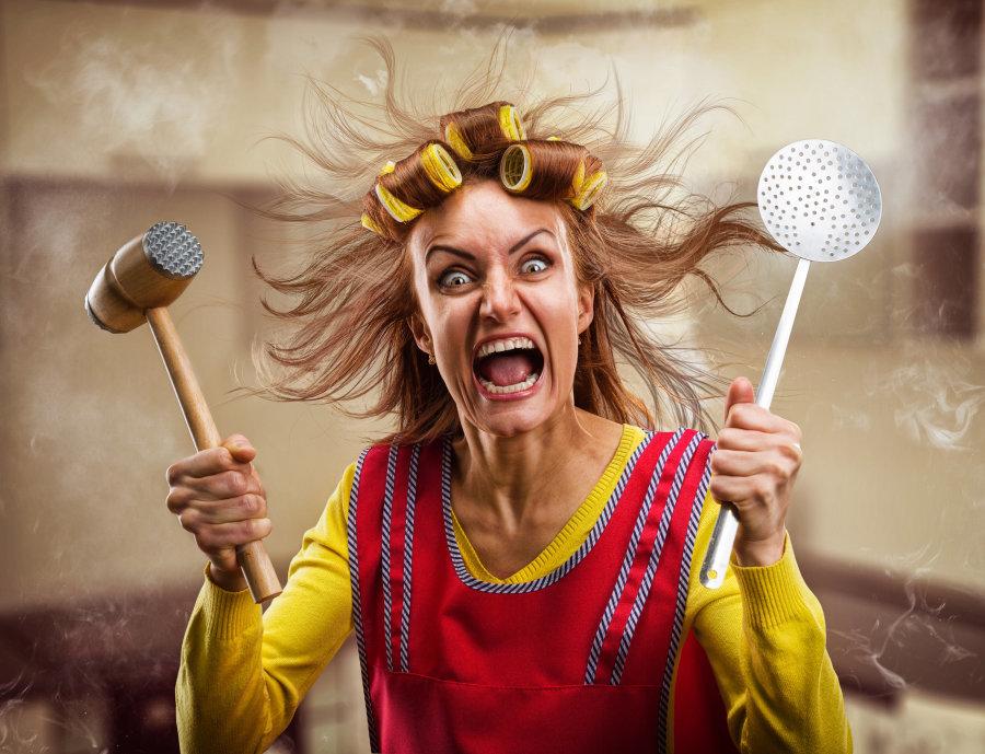 Веселые картинки про женщину и работу, открытки для