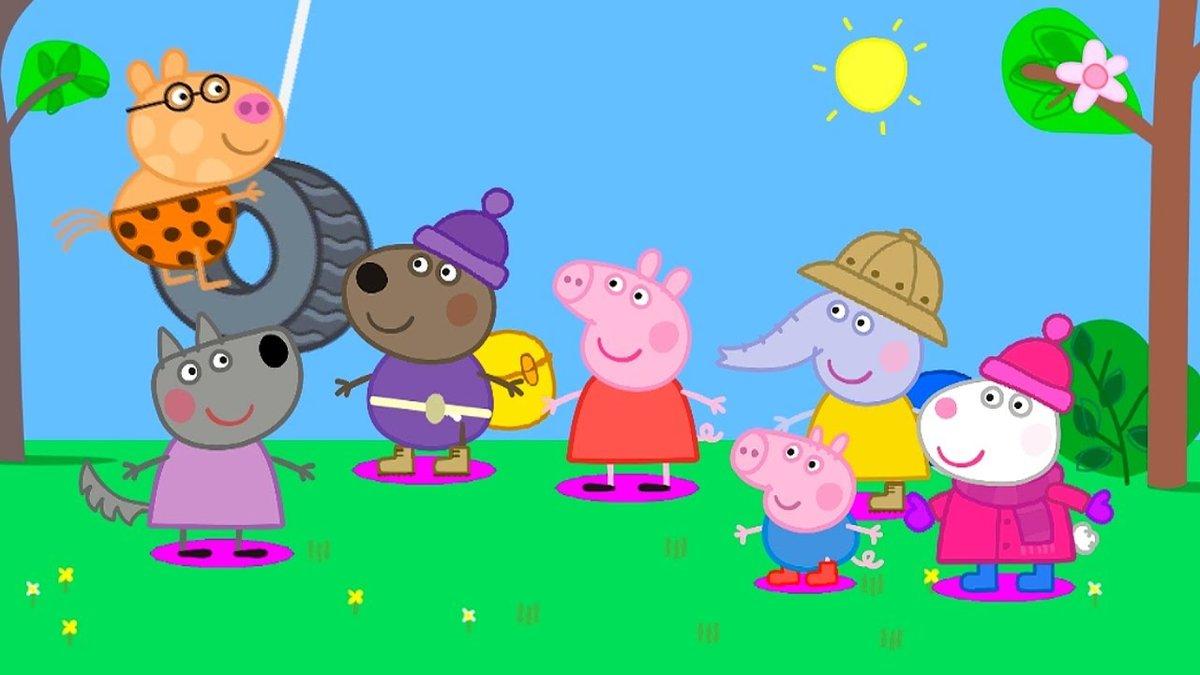 Картинки со свинкой пеппой и ее друзей, сыну