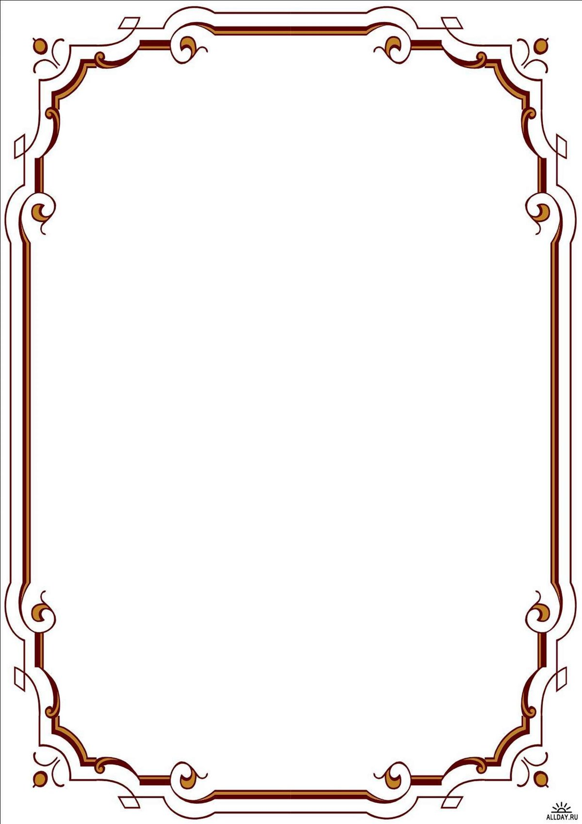 Грача, рамки для рисунок формат а4