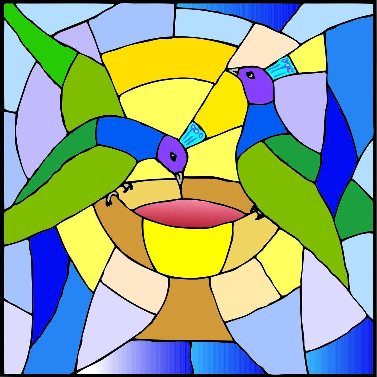 Рисуем картинка в стиле мозаики