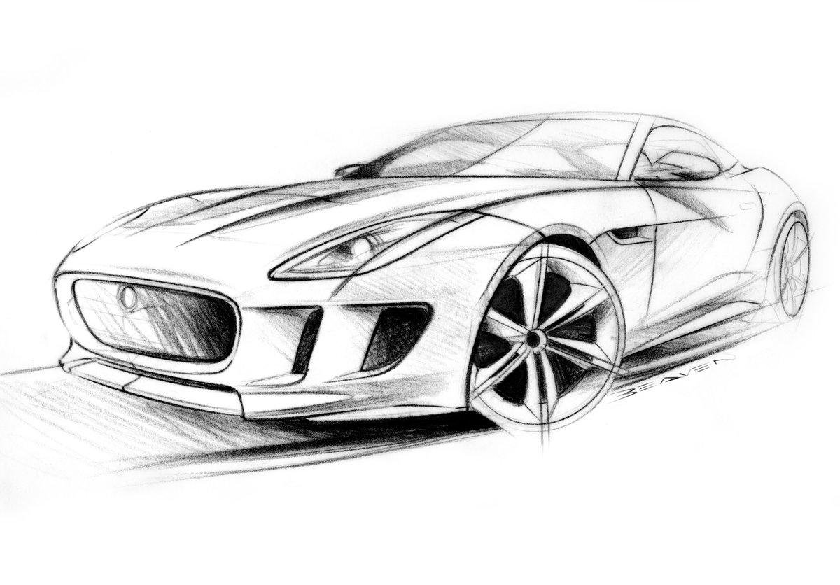 Крутые машины рисунок карандашом