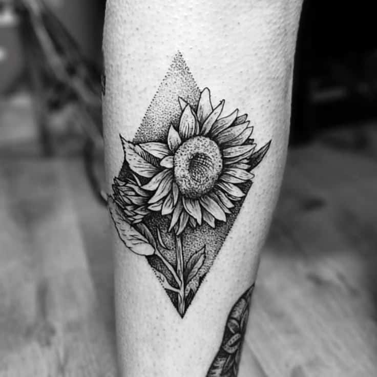 sunflower tattoo images - 736×736