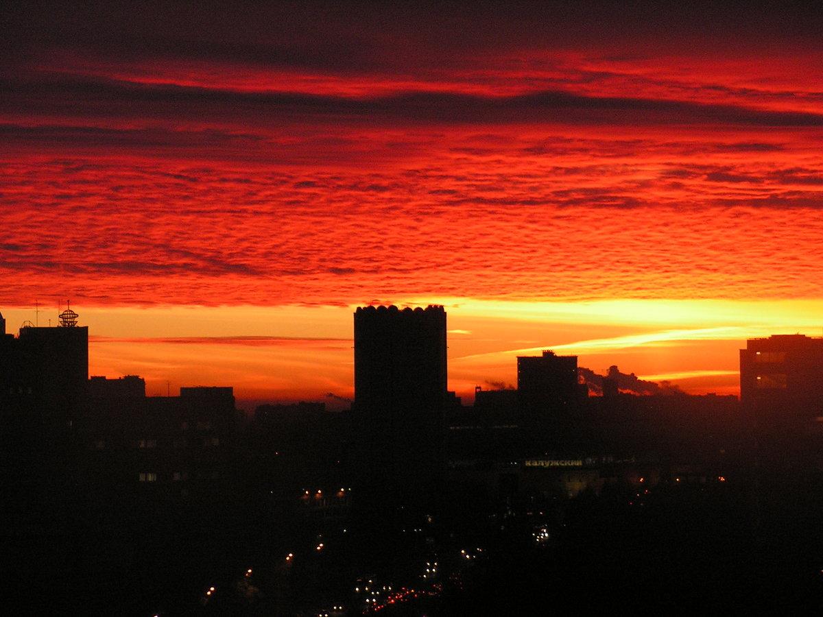 картинки города на закате дня времени подачи