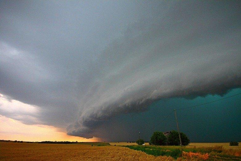 Штормовое небо фото