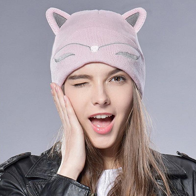 пещера фото юли гамали с шапкой кошкой розовой бампер стал