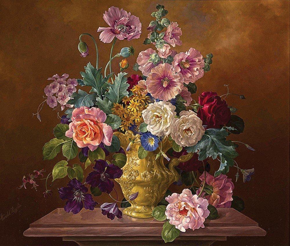 Картинки, картинки цветы натюрморт