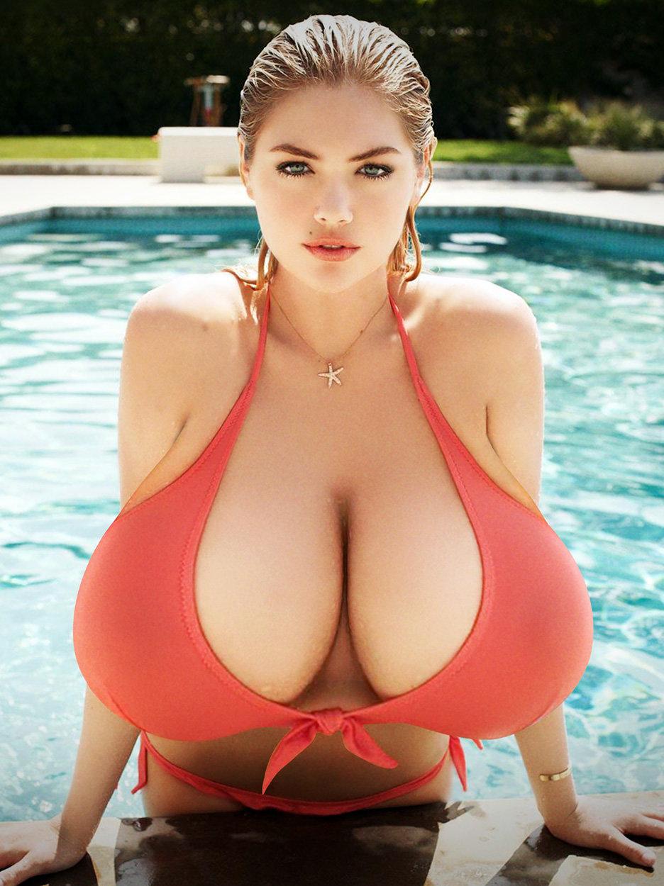 Секс с худой девушкой с большой грудью действительно