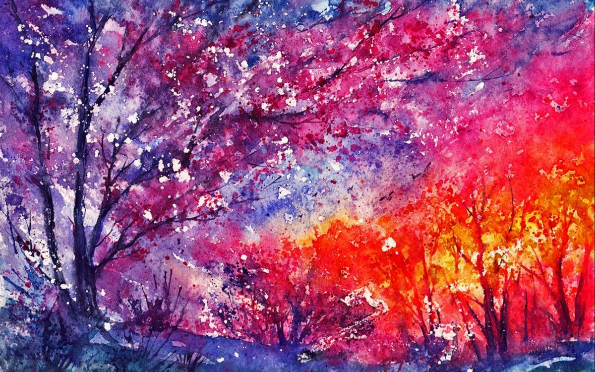 Надписью скидка, картинки с рисунками акварельными красками