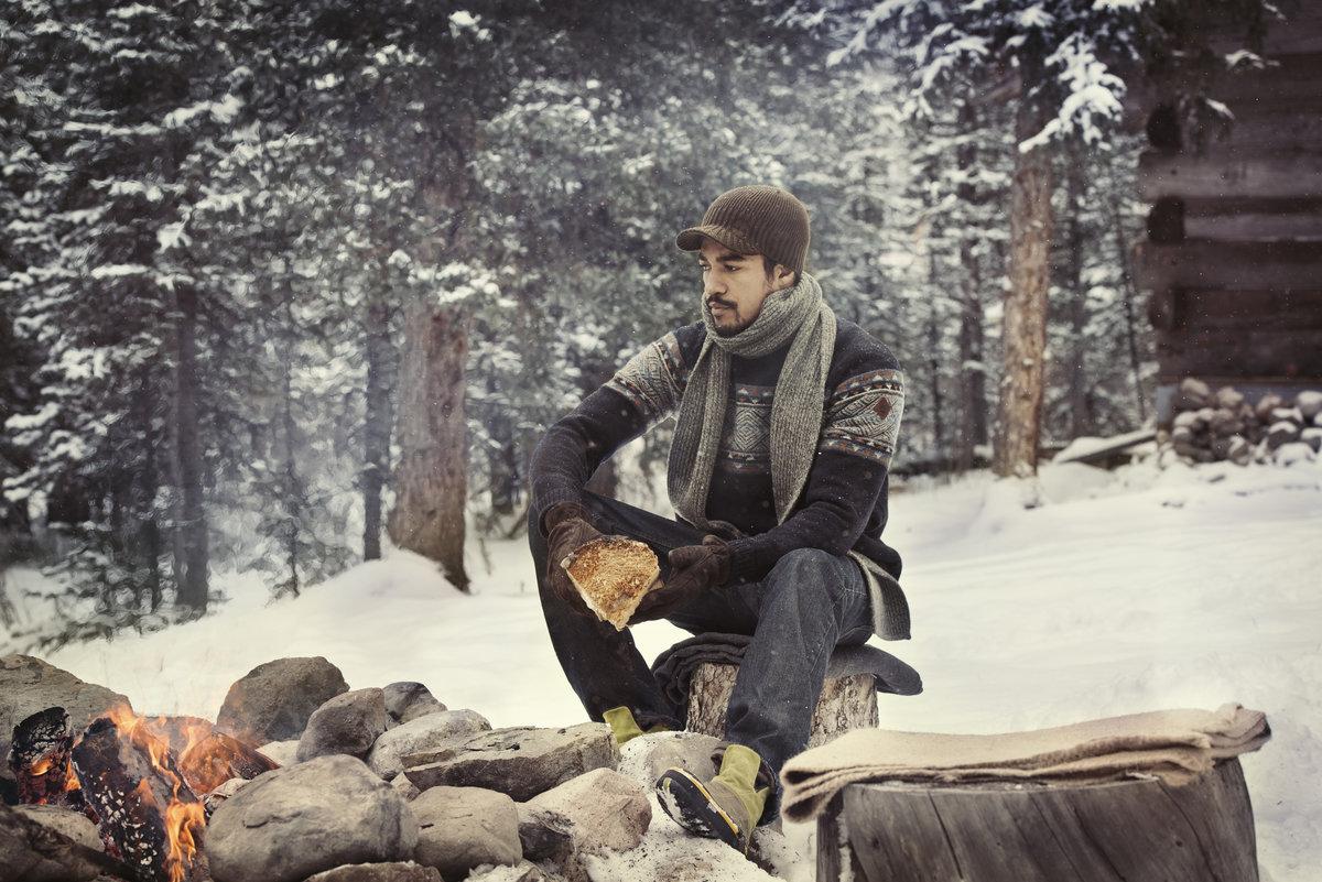 мужская фотосессия в лесу обнаженному телу вообще