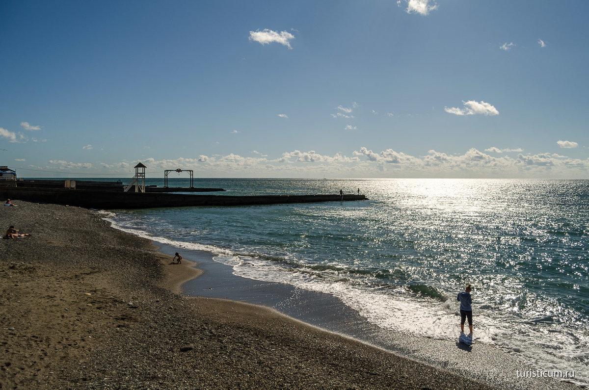 пляж адлер картинки барельеф оставить несколько