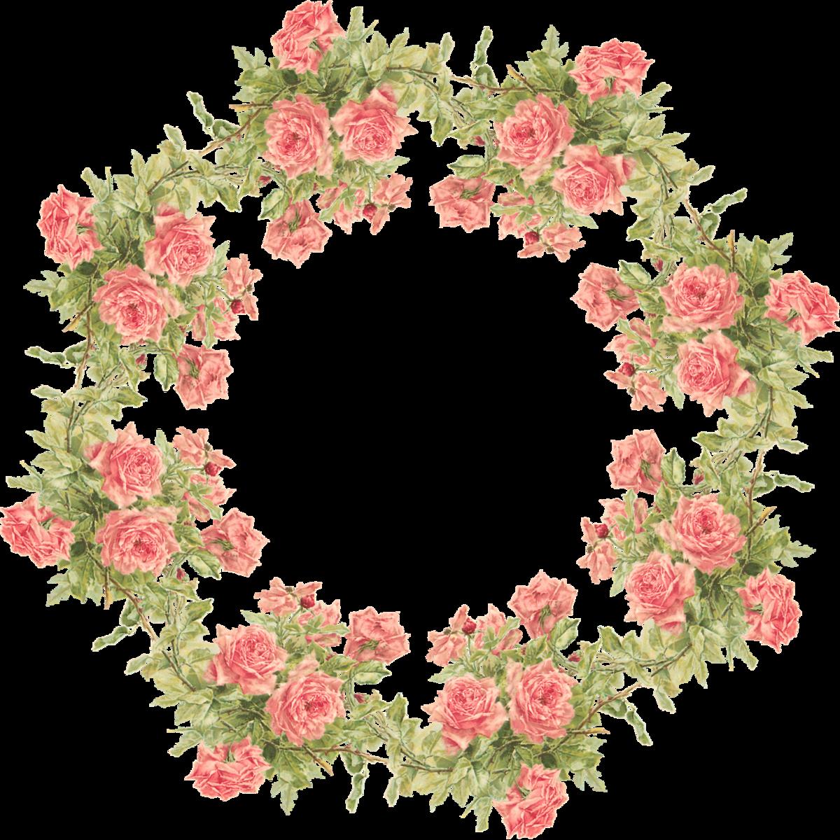 картинка цветочная круглая самый