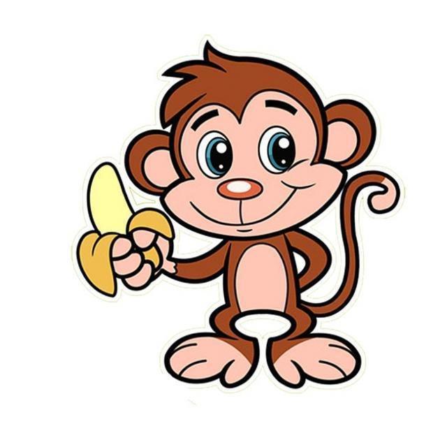 Картинки смешных обезьянок нарисованные