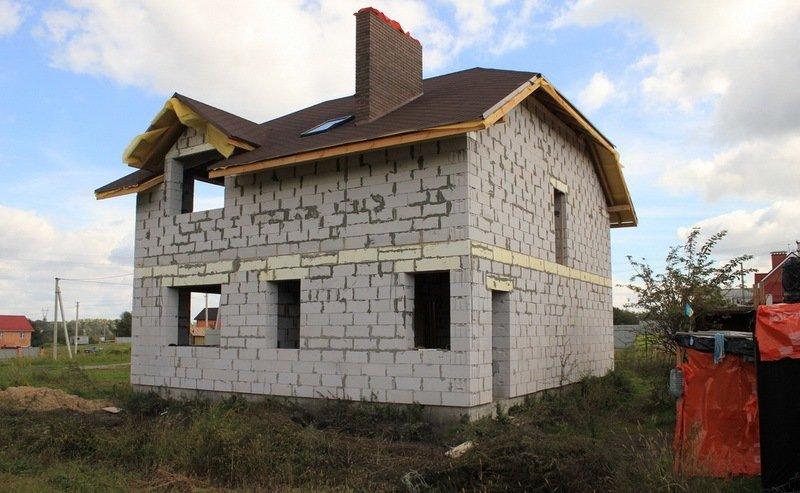 Строительство домов в картинках из блоков