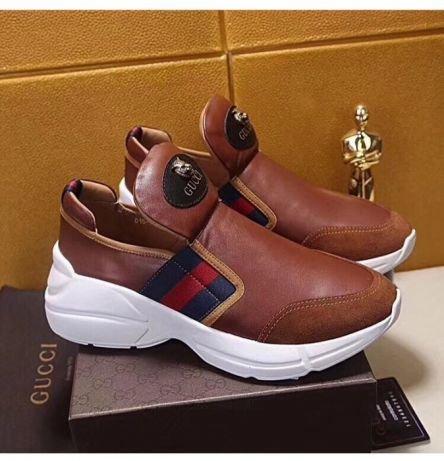291a952d755e Ботинки зимние Gucci женские. Женские сапоги осень и зима Новый хлопок обувь  теплые Подробности.