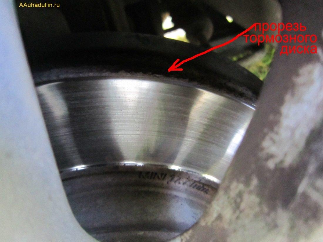 Тормозной диск Рено Логан вентилируемый с прорезью