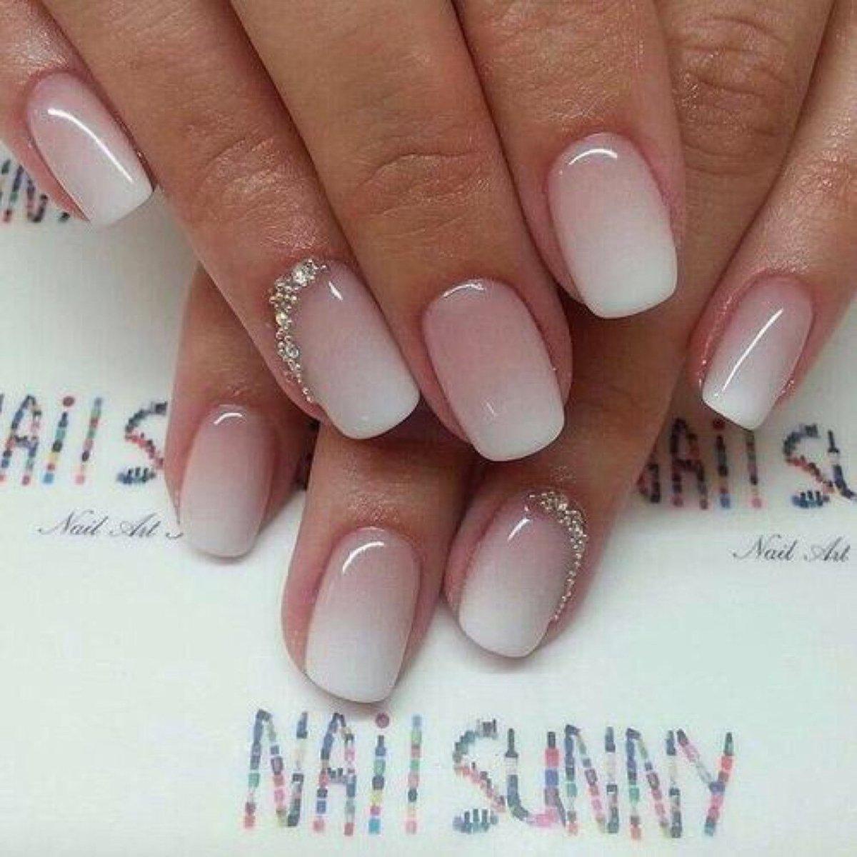 дизайн ногтей шеллак розовый 7