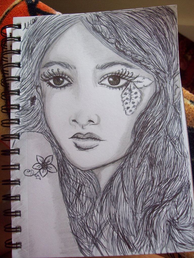 Pencil Drawings Of Fairies See More About Pencil Drawings Of