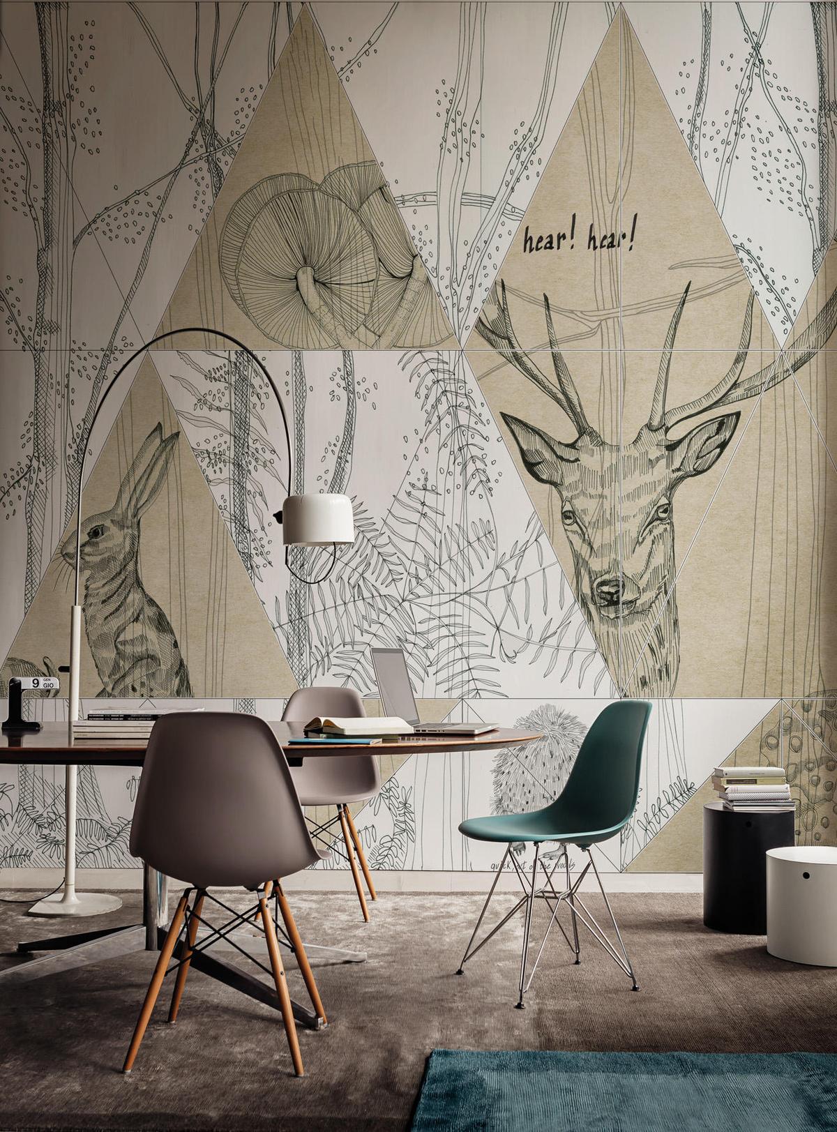 Скандинавские картинки для интерьера, днем города