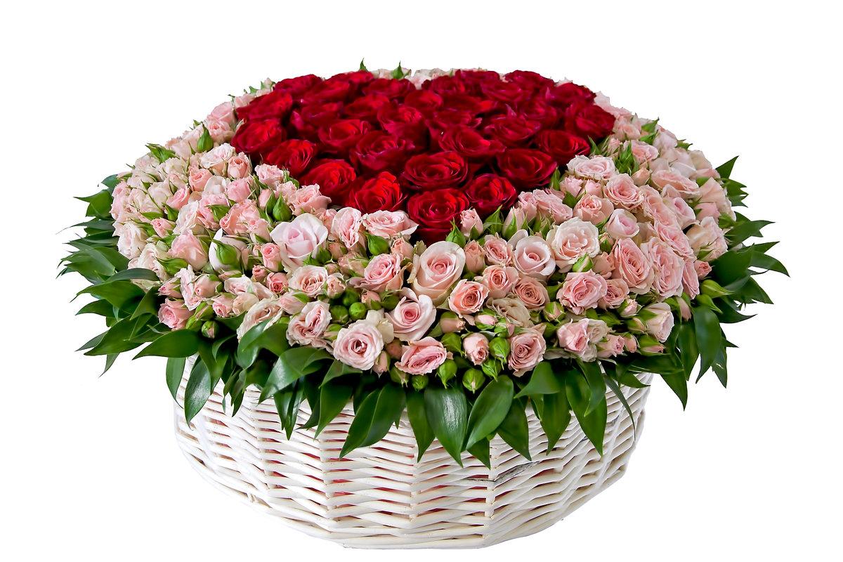Дорогие, большой букет цветов на день рождения