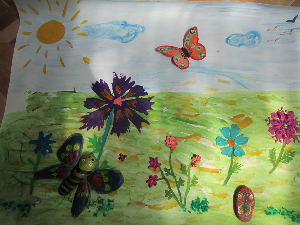 Рисование в старшей группе на тему картинка про лето
