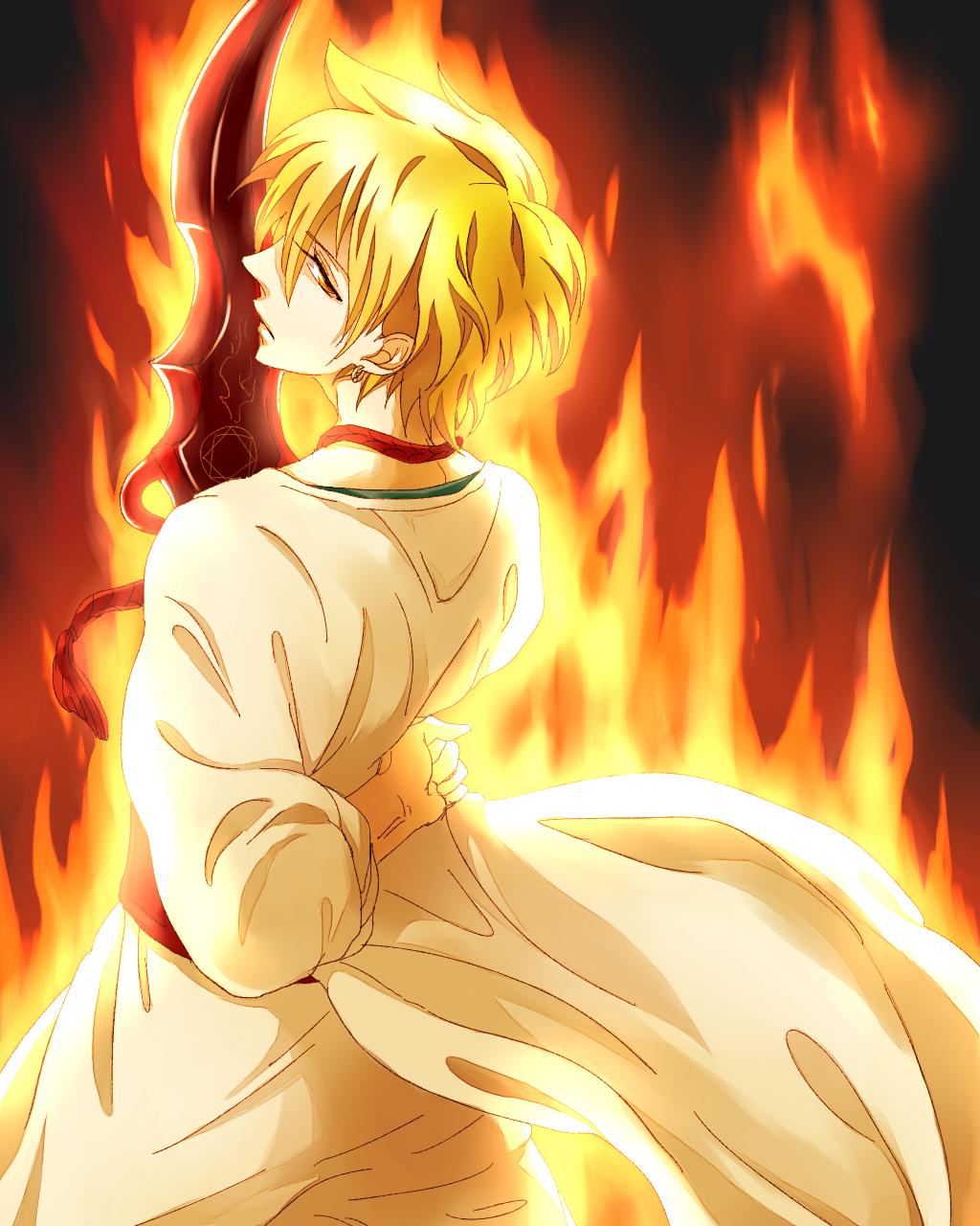 огненный парень картинки любом