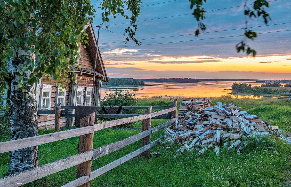 Красивые картинки с деревеньками
