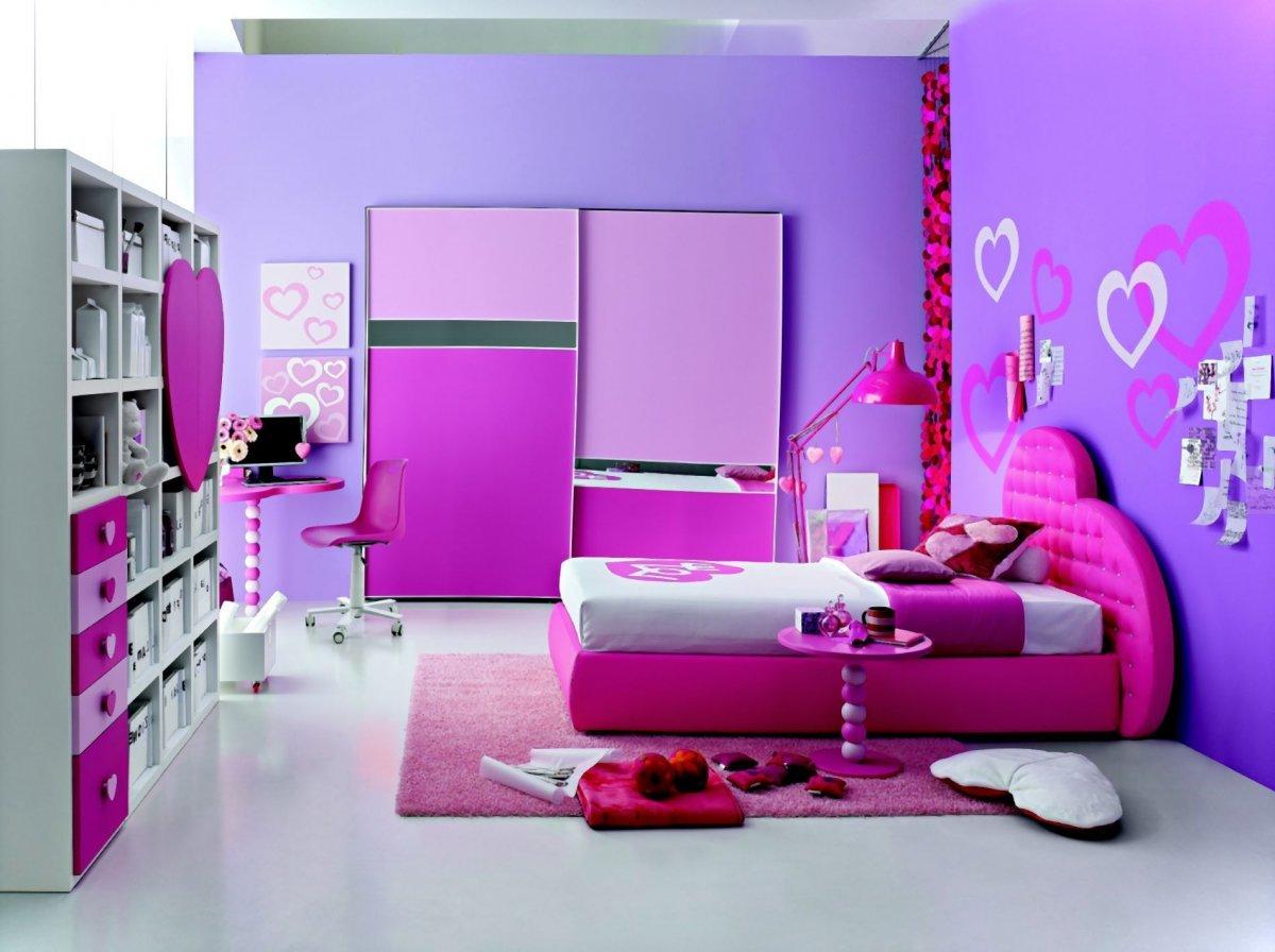 Картинки красивые комнаты для девочек, золотая осень