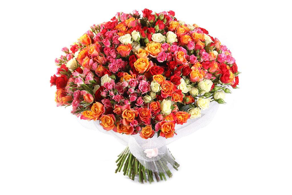 Букет на юбилей из роз