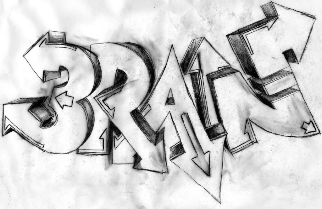 Граффити карандашом картинки имена