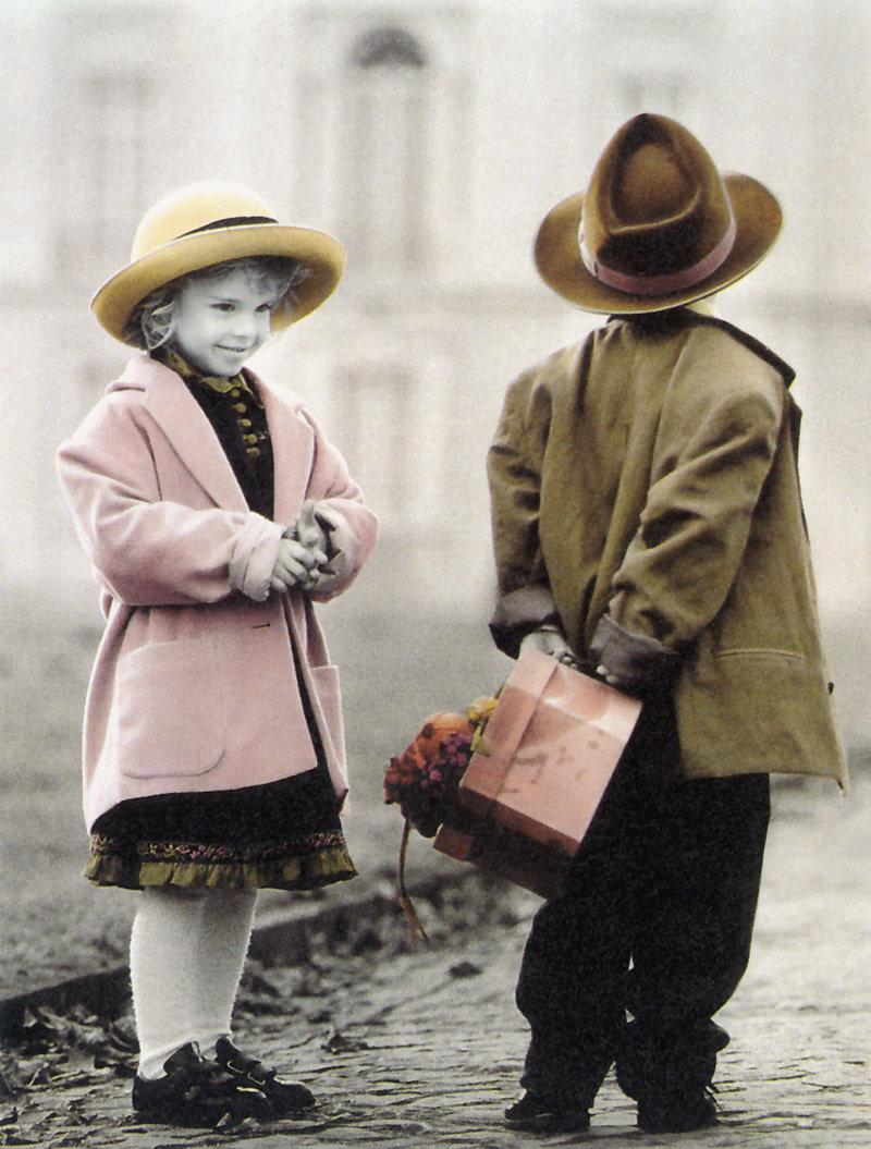 Открытки дети любовь, смешные картинка