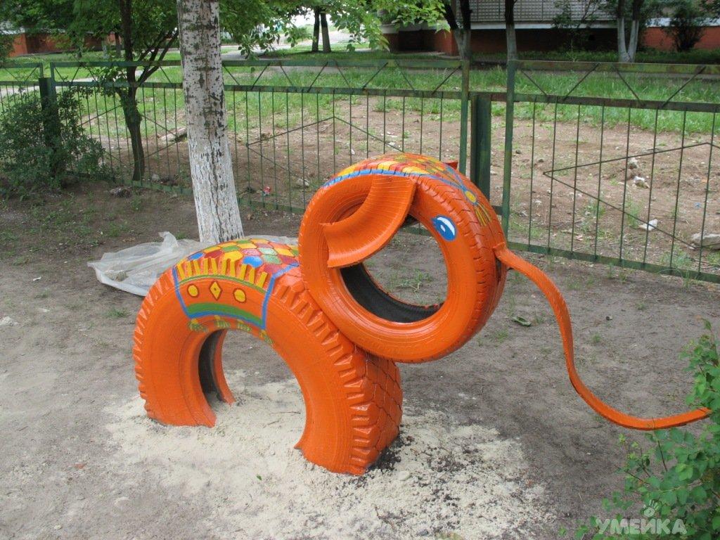 Декор детской площадки своими руками фото 463