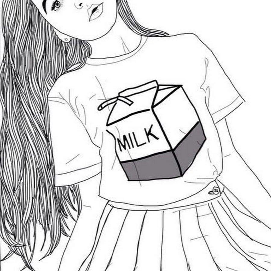 Смешная, картинки для девочек 18 лет срисовки