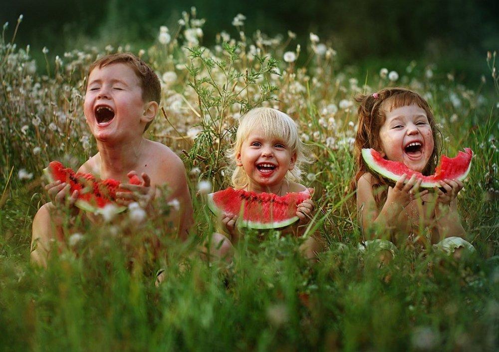 Прикольная картинка счастье, детей