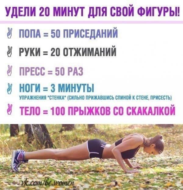 Идеальный Комплекс Упражнений Для Похудения.
