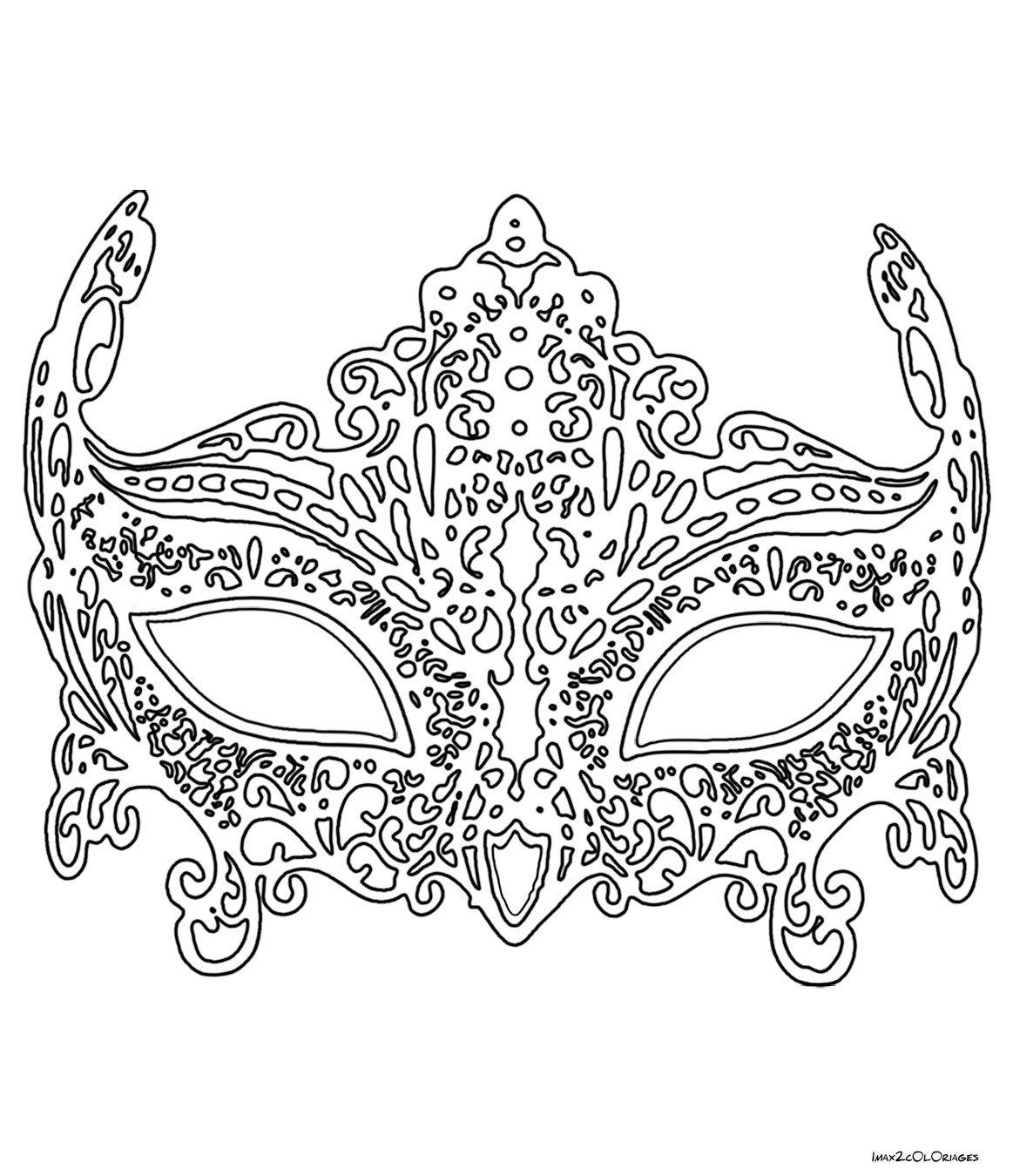 составили раскраска девчачьи маски кольцо монеты выпущенной