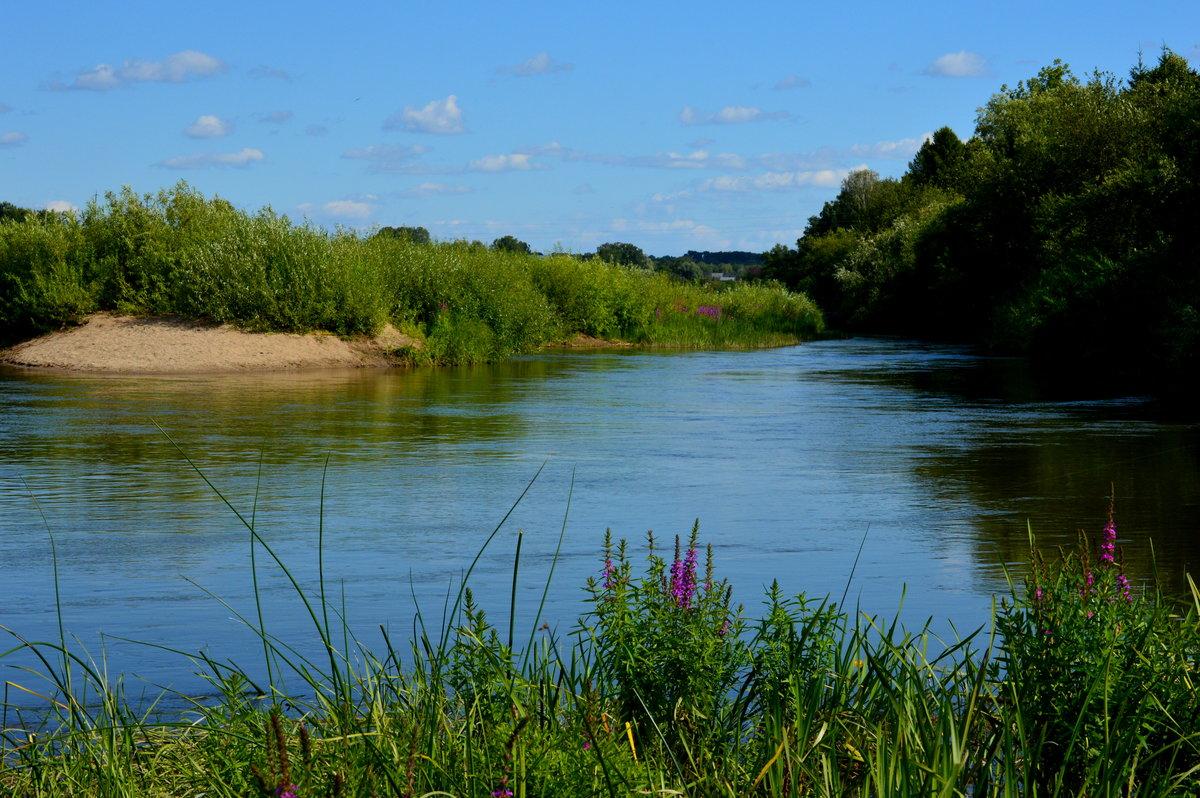 Ах, река, река родная....