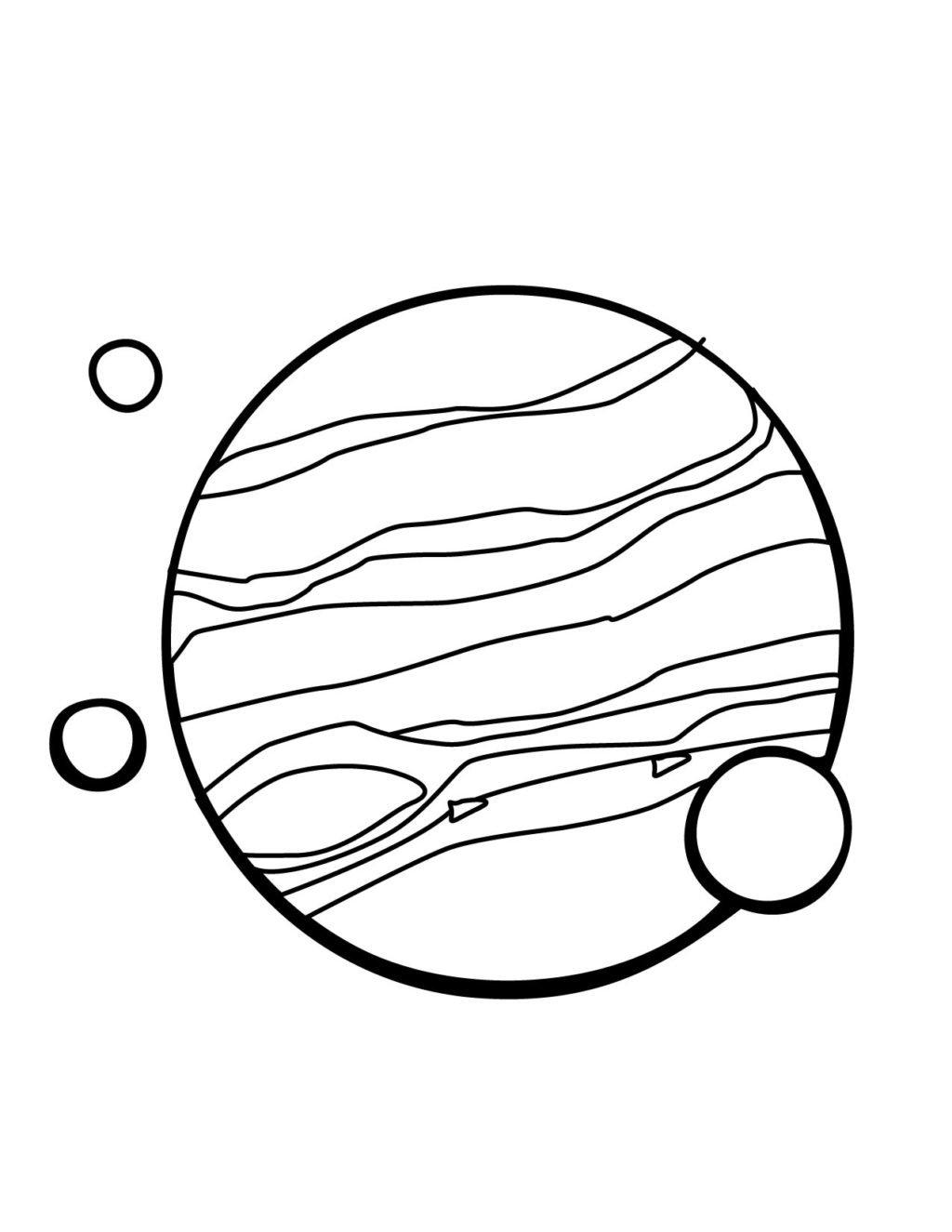 Раскраска юпитер для детей