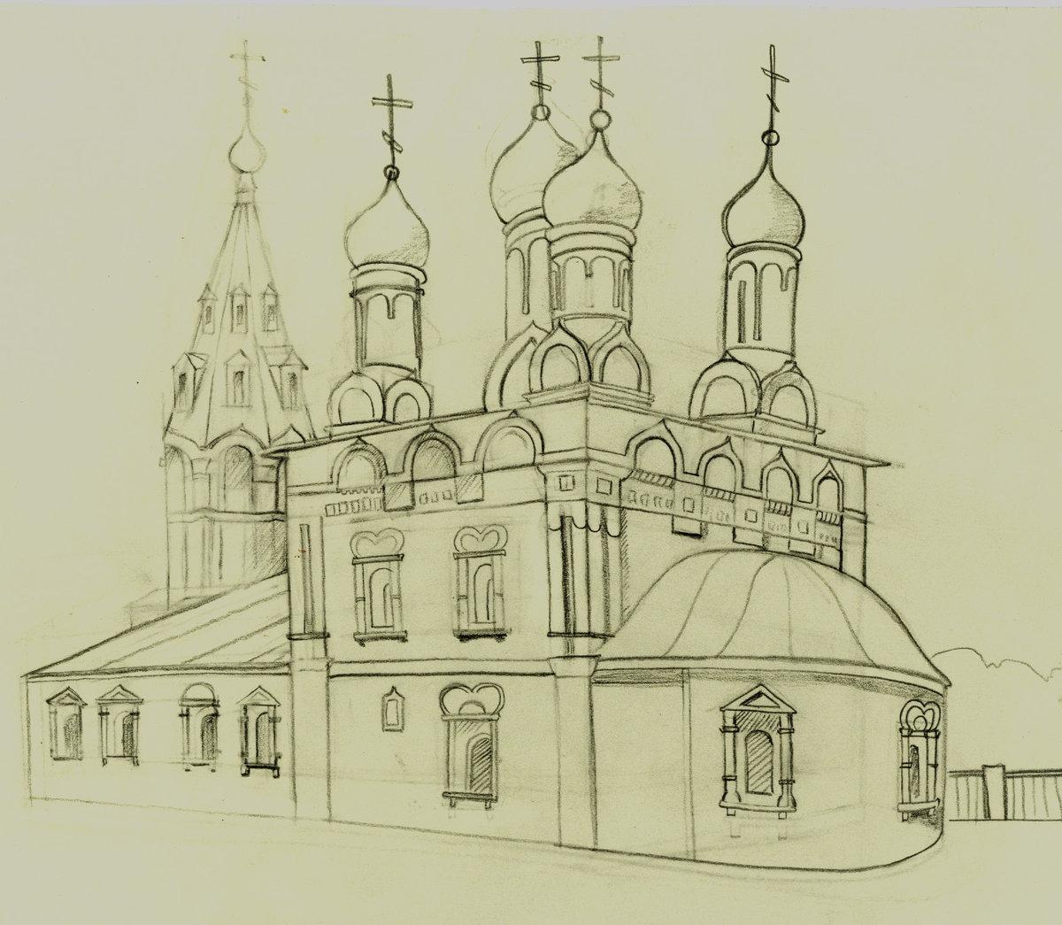Картинки церкви простые