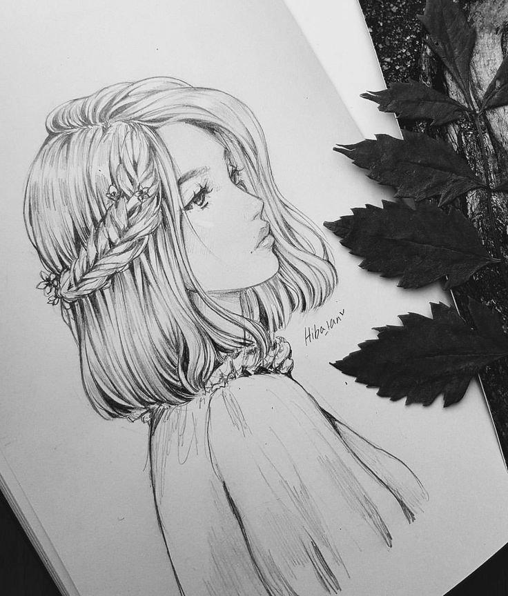 Девушек новым, картинки для срисовки самые красивые