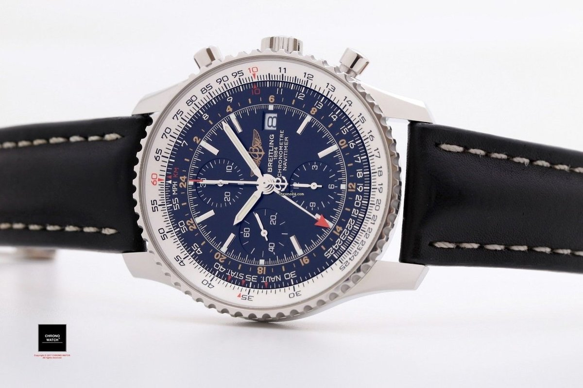 Элементы 1— из breitling navitimer world gmt chronograph.