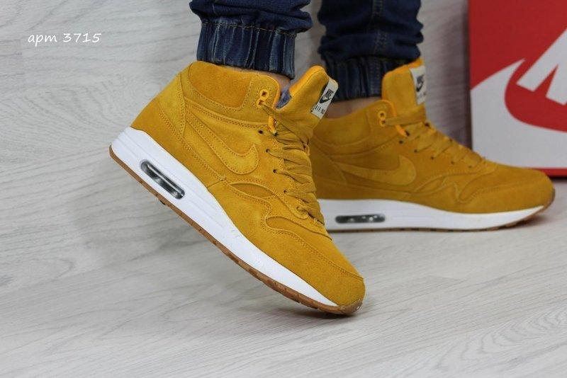 2704554c5e4c Кроссовки Nike Air Retro 4 зимние. Кроссовки IV мужские черно-желтые Перейти  на официальный