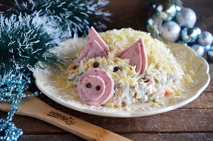 салаты на новогодний стол рецепты с фото зависимости используемого