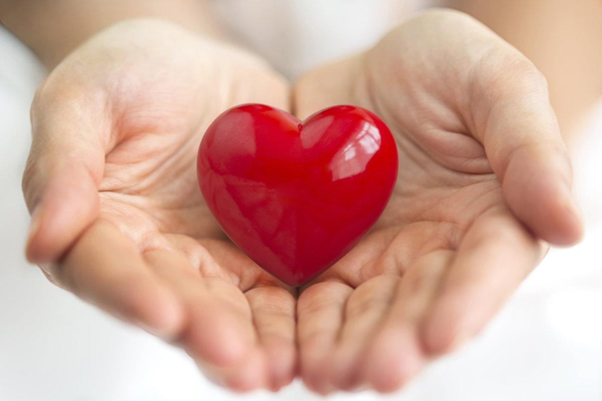 Анимашки для, картинки сердце в ладошках