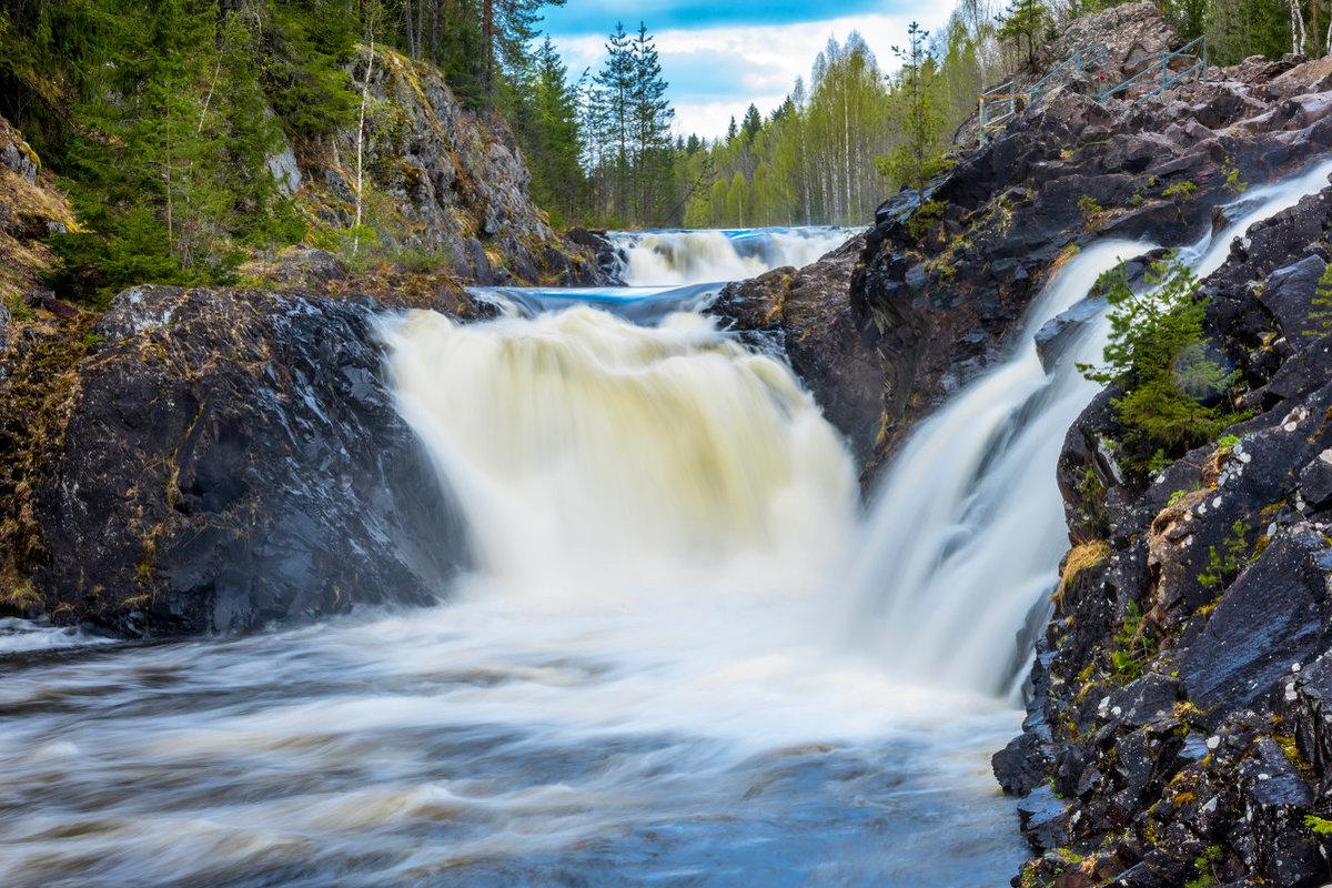 комплексом картинка водопада кивач все