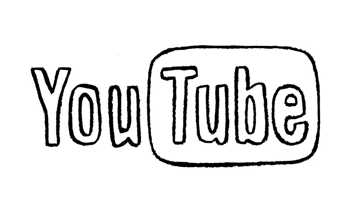 Youtube Logo Coloring Pages Bing Images Card From User
