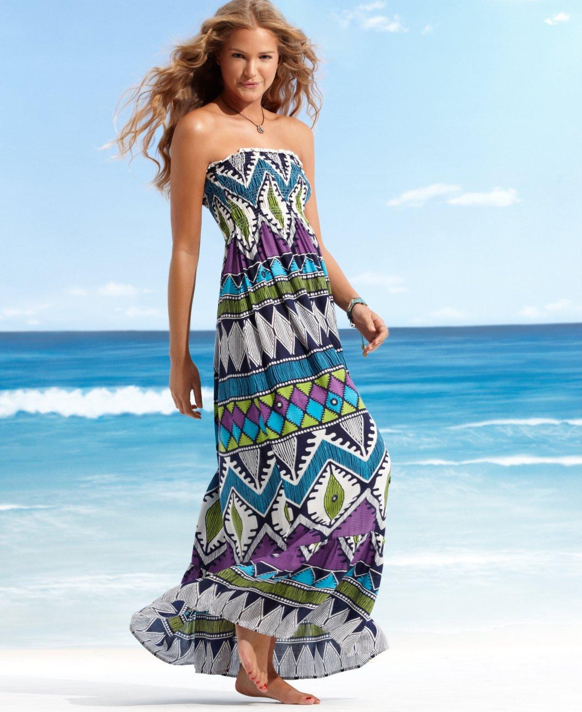Картинки пляжные платья и сарафаны