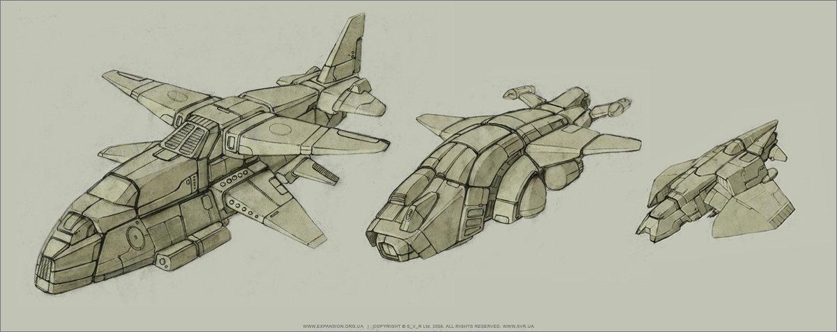Рисунки кораблей будущего в картинках