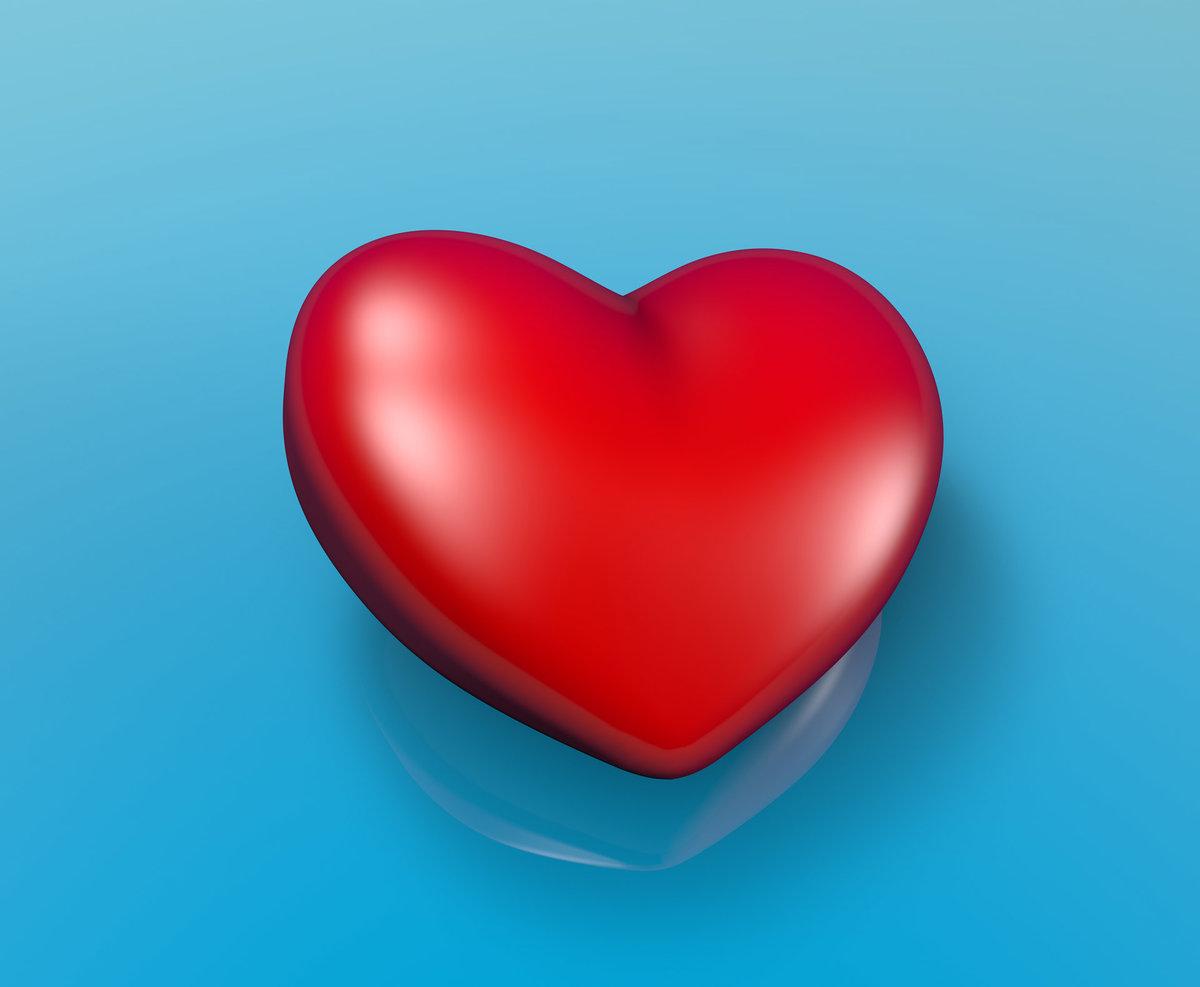 фото с картинками сердце поздравления днем